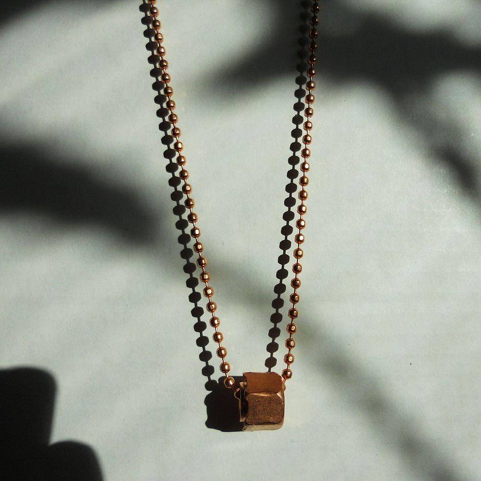 CopperMensboltNecklace
